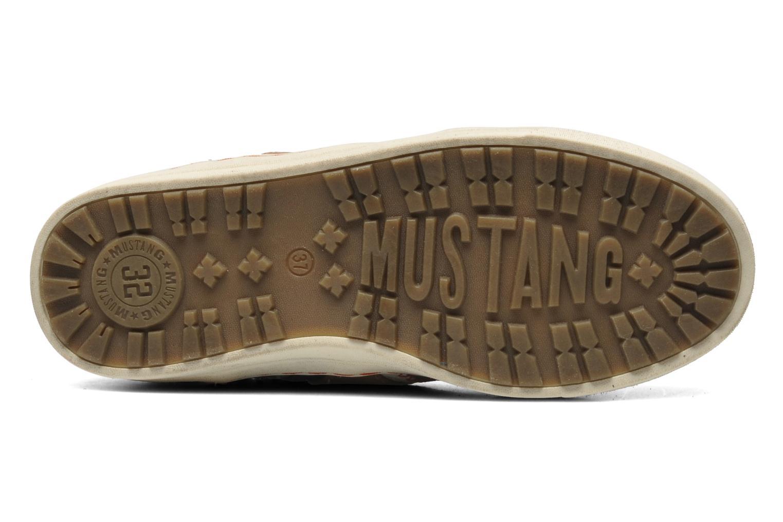 Baskets Mustang shoes Moon Gris vue haut