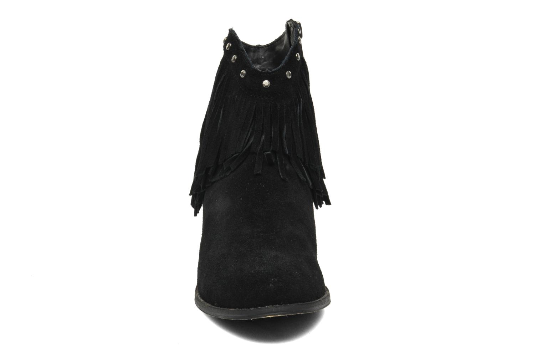 Bottines et boots Minnetonka Bandera Boot Noir vue portées chaussures