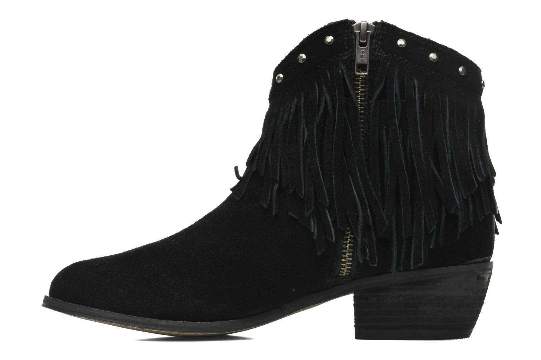Bottines et boots Minnetonka Bandera Boot Noir vue face