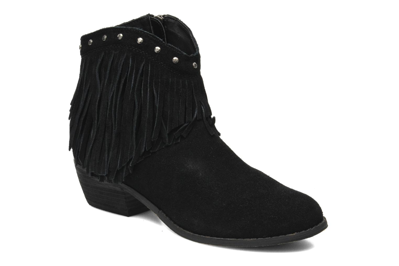 Bottines et boots Minnetonka Bandera Boot Noir vue détail/paire