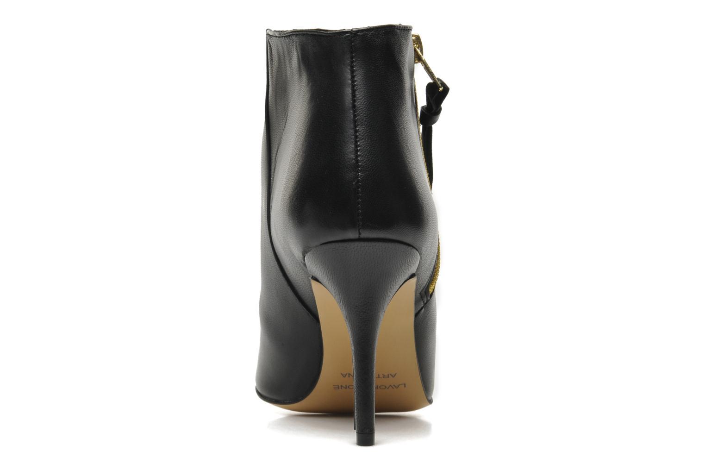 Bottines et boots Georgia Rose Bernadette new Noir vue droite