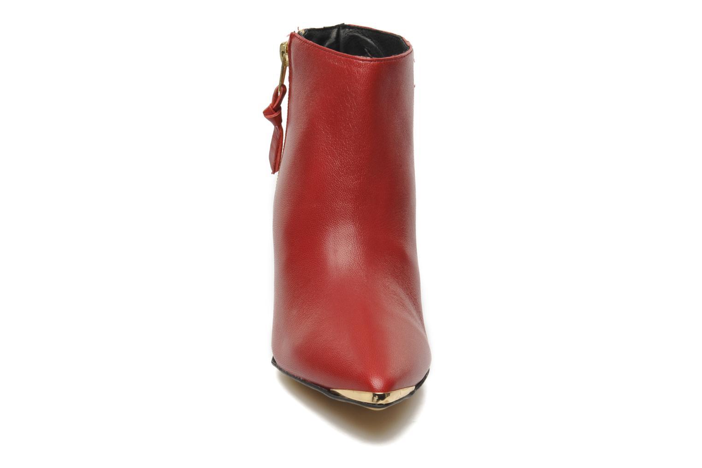 Bottines et boots Georgia Rose Bernadette new Rouge vue portées chaussures