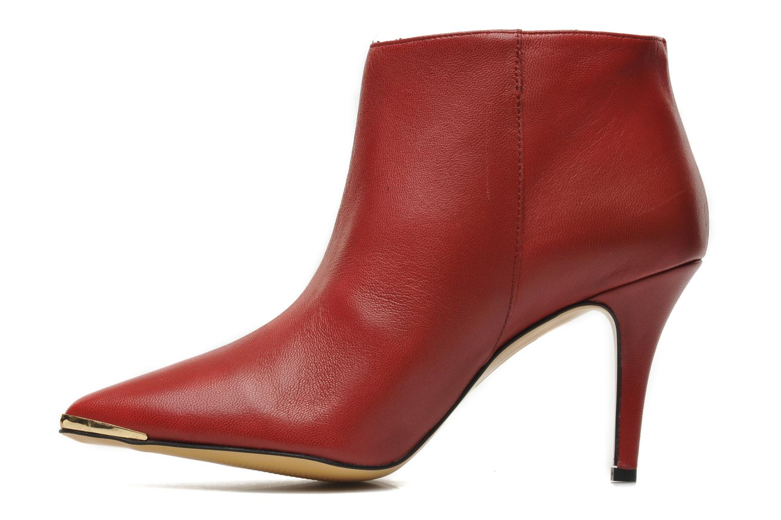 Ankle boots Georgia Rose Bernadette new Red front view