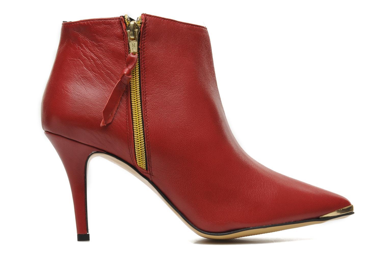 Bottines et boots Georgia Rose Bernadette new Rouge vue derrière