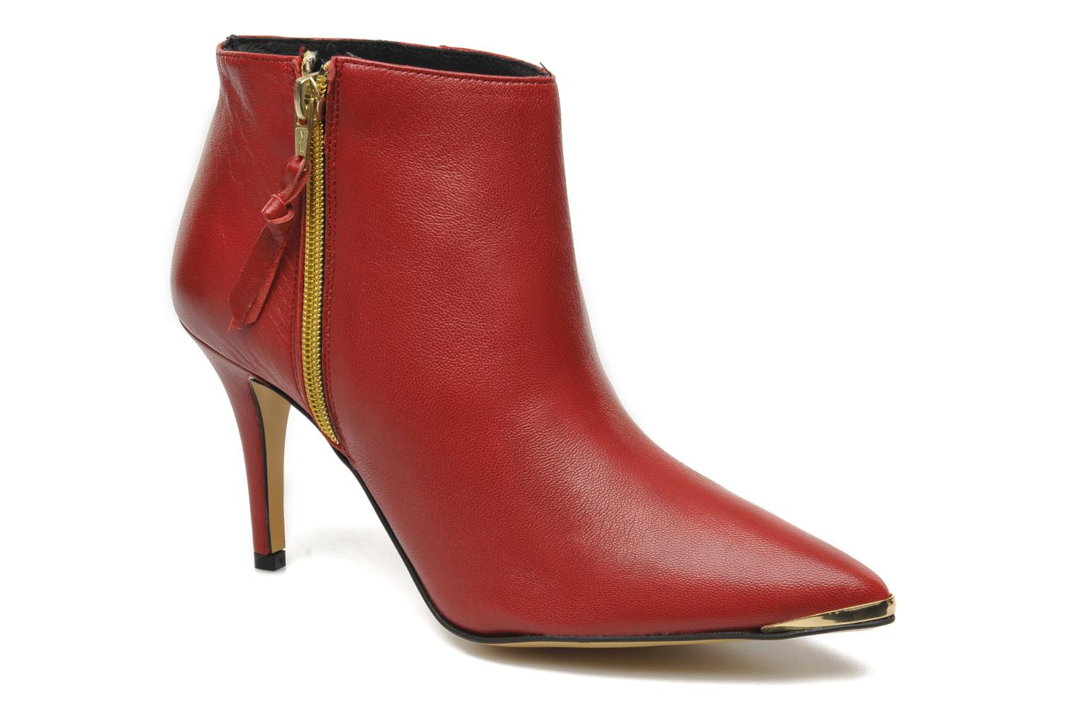Ankle boots Georgia Rose Bernadette new Red detailed view/ Pair view