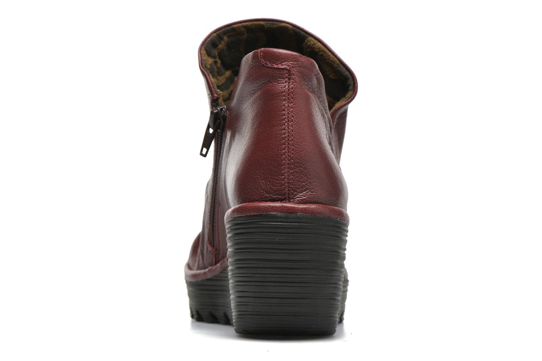 Stiefeletten & Boots Fly London Yip rot ansicht von rechts