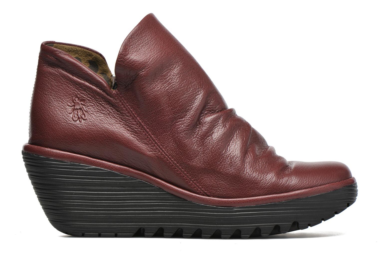 Bottines et boots Fly London Yip Rouge vue derrière