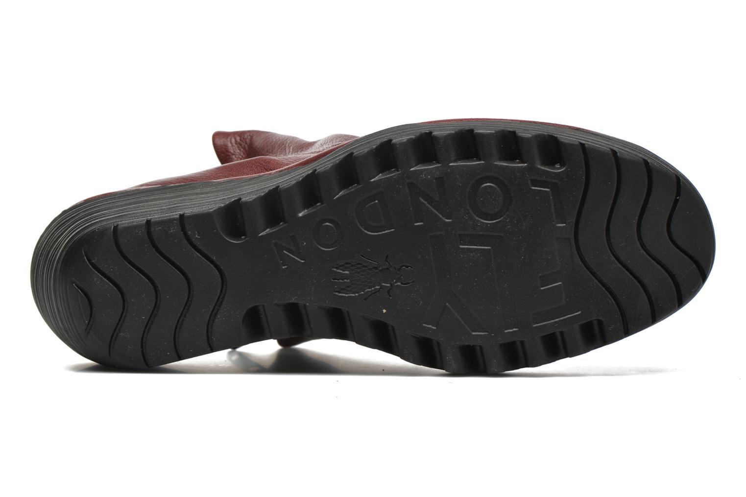 Stiefeletten & Boots Fly London Yip rot ansicht von oben