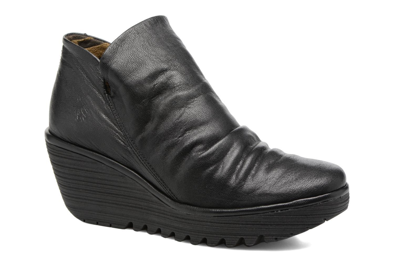 Bottines et boots Fly London Yip Noir vue détail/paire