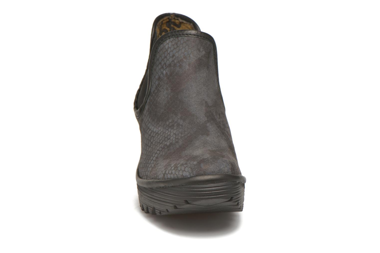 Bottines et boots Fly London Yat Noir vue portées chaussures