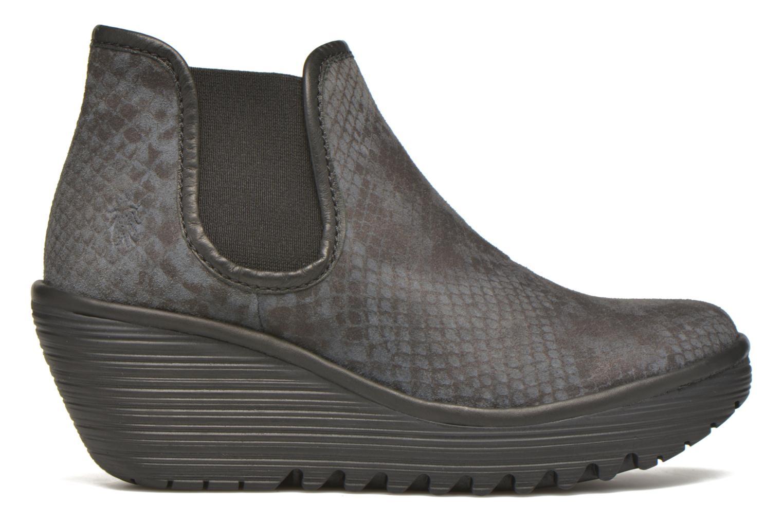 Boots en enkellaarsjes Fly London Yat Zwart achterkant