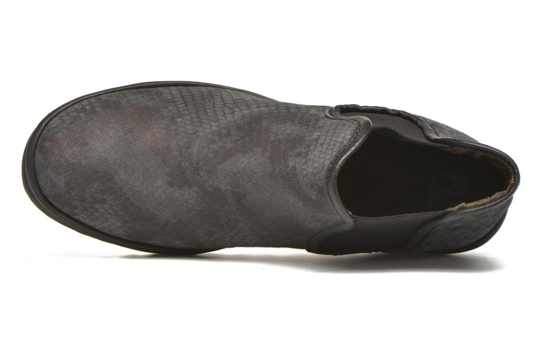 Bottines et boots Fly London Yat Noir vue gauche