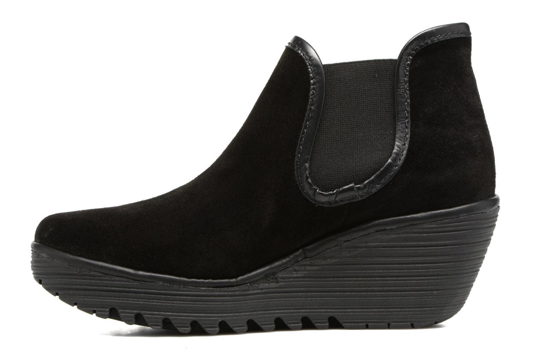 Bottines et boots Fly London Yat Noir vue face