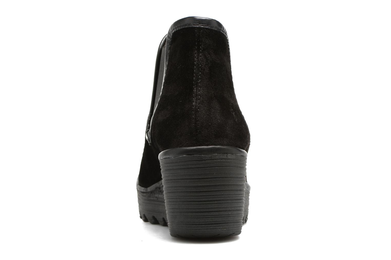 Bottines et boots Fly London Yat Noir vue droite