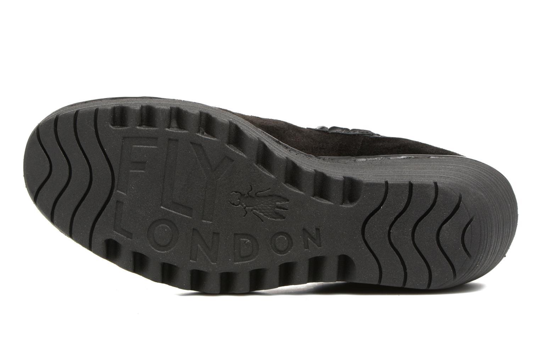 Bottines et boots Fly London Yat Noir vue haut