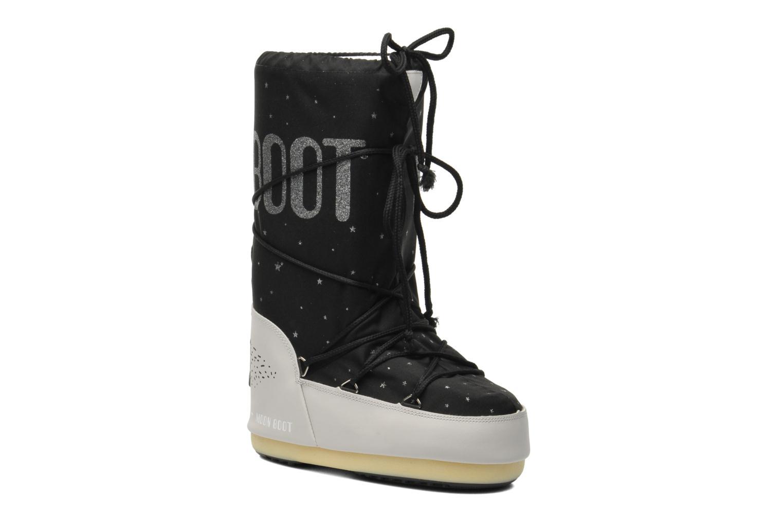 Bottes Moon Boot Space Noir vue détail/paire