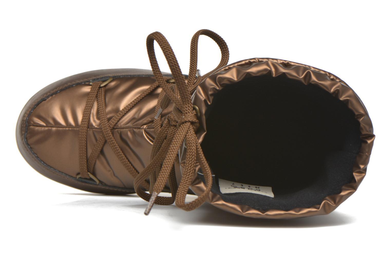 Botas Moon Boot Soft Met Oro y bronce vista lateral izquierda