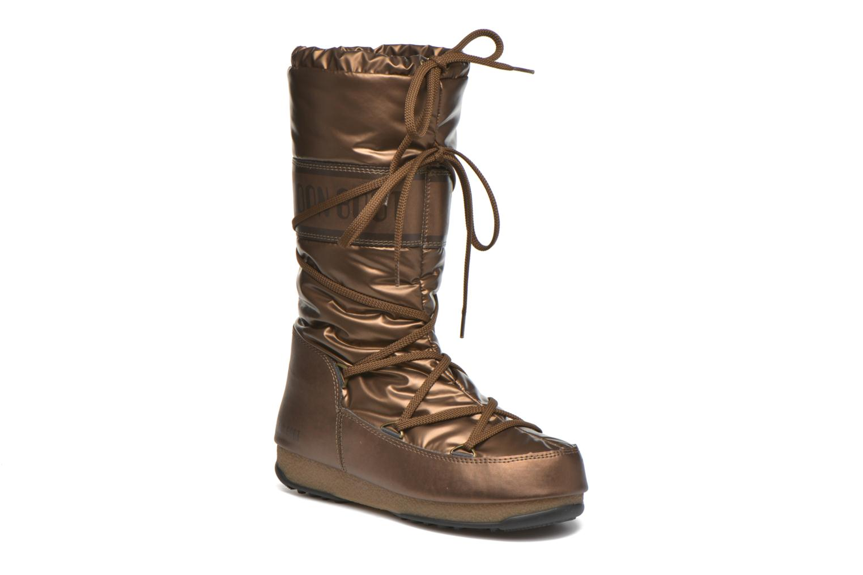 Botas Moon Boot Soft Met Oro y bronce vista de detalle / par