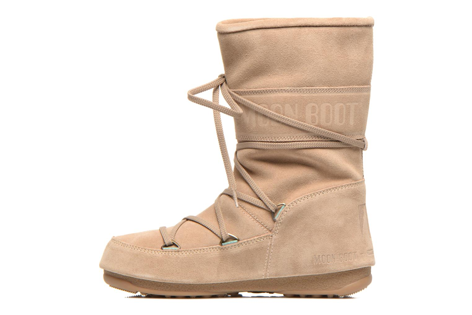 Ankle boots Moon Boot Caviar Mid Beige front view
