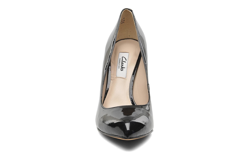 High heels Clarks Always Chic Black model view