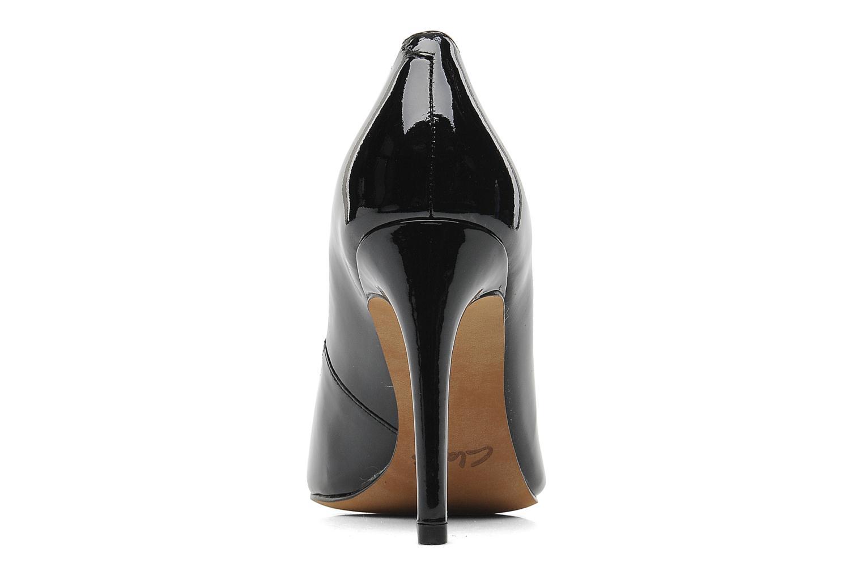 Zapatos de tacón Clarks Always Chic Negro vista lateral derecha