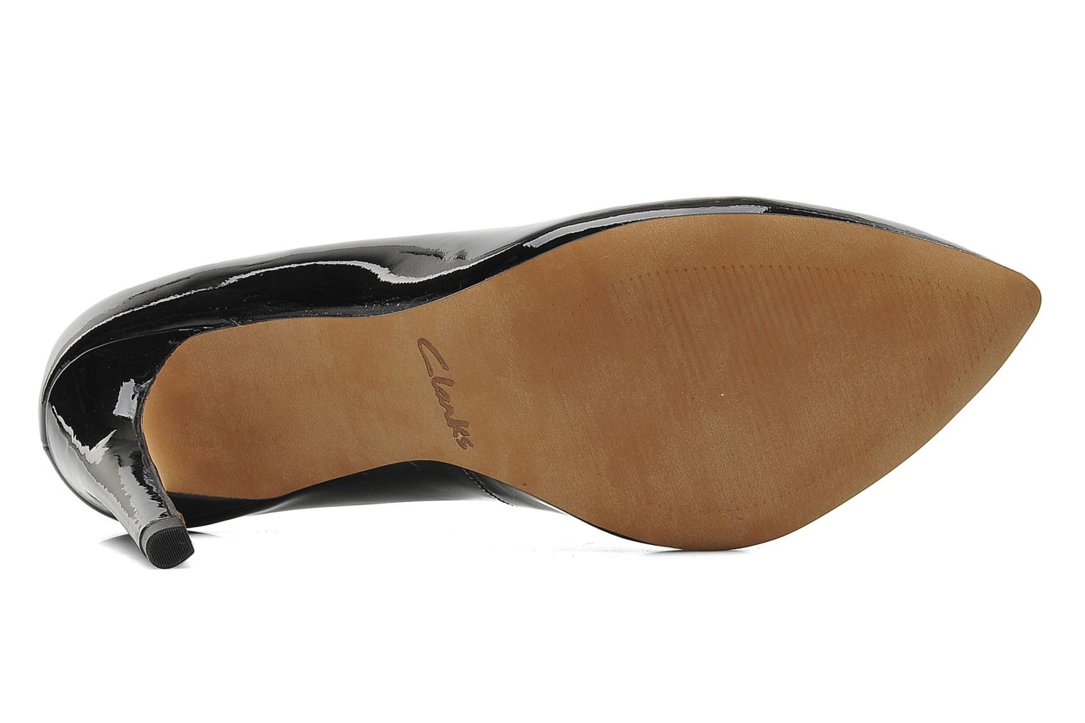 High heels Clarks Always Chic Black view from above