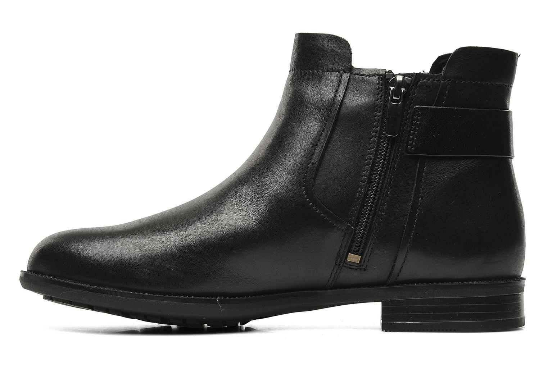 Boots en enkellaarsjes Clarks Mint Jam GTX Zwart voorkant