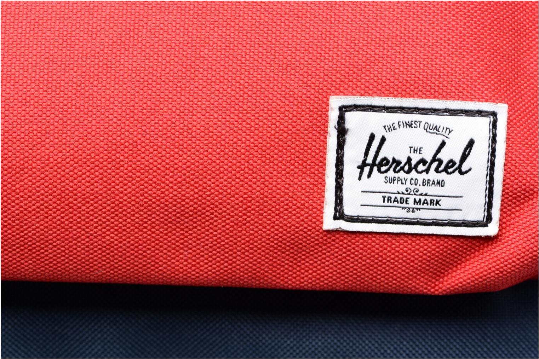 Mochilas Herschel Heritage Azul vista lateral izquierda