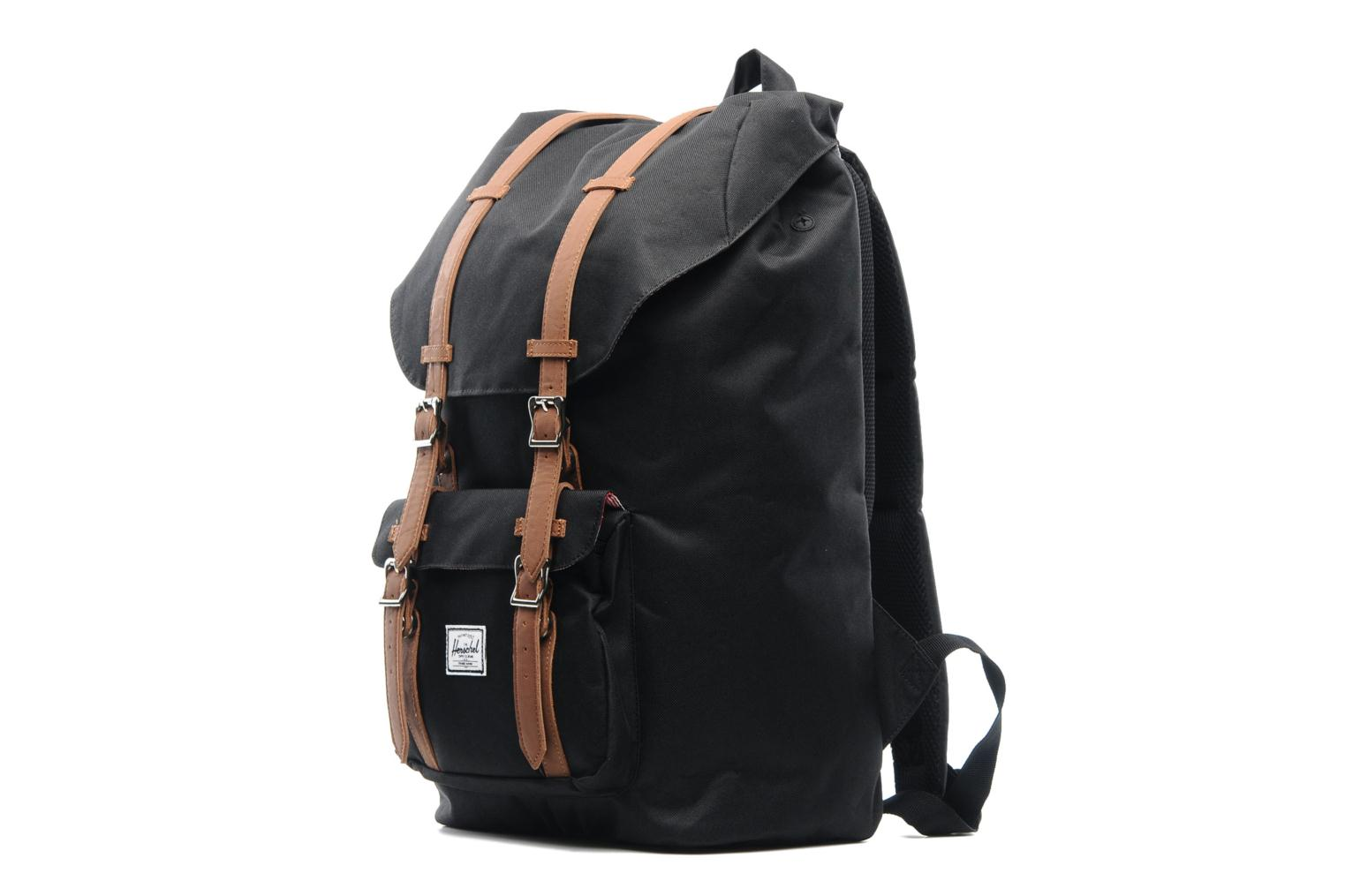 Rucksacks Herschel Little America Black model view
