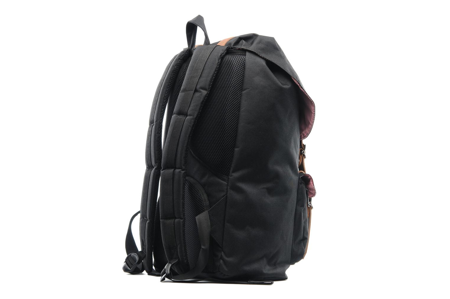 Rucksacks Herschel Little America Black view from the right