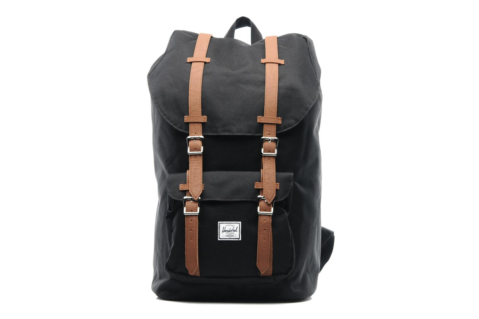 Rucksacks Herschel Little America Black detailed view/ Pair view