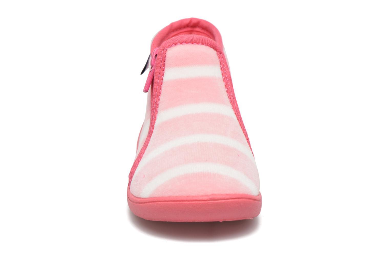 Chaussons Petit bateau PB Conte Rose Rose vue portées chaussures