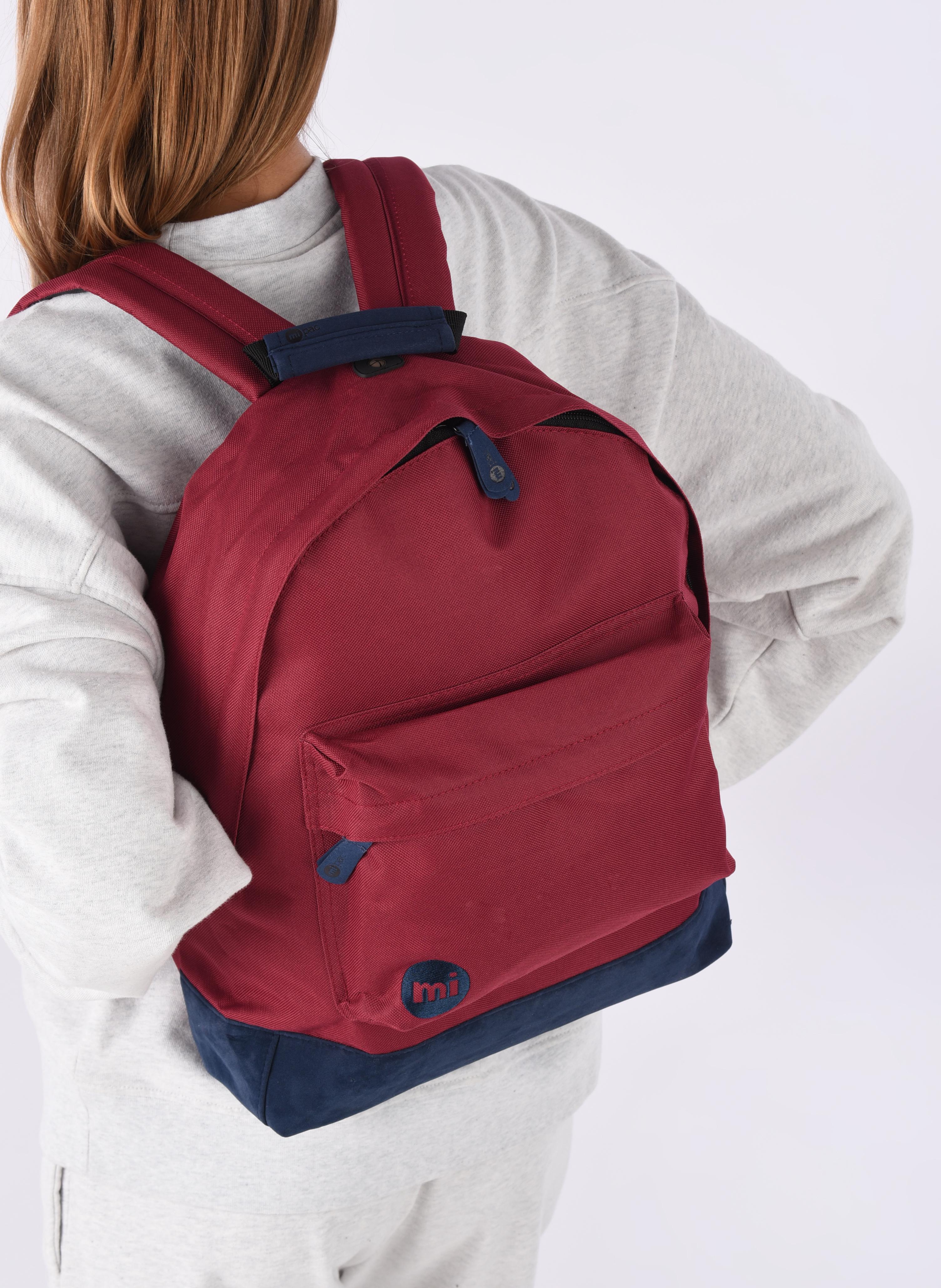 Sacs à dos Mi-Pac Classic Backpack Bordeaux vue haut