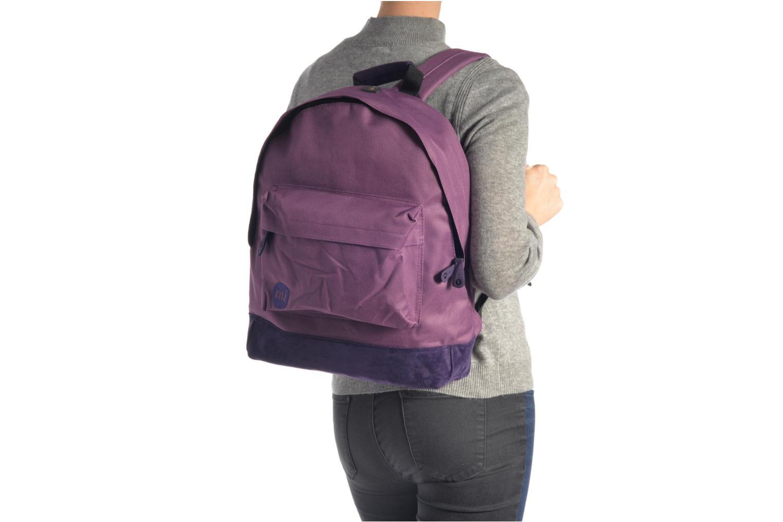Rucksäcke Mi-Pac Classic Backpack schwarz ansicht von oben
