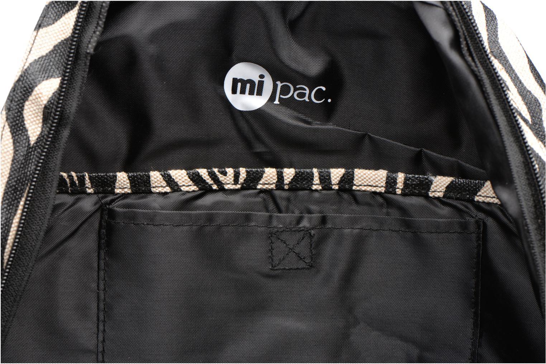 Rucksacks Mi-Pac Premium Backpack Beige back view
