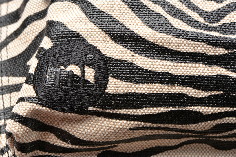 Rucksacks Mi-Pac Premium Backpack Beige view from the left