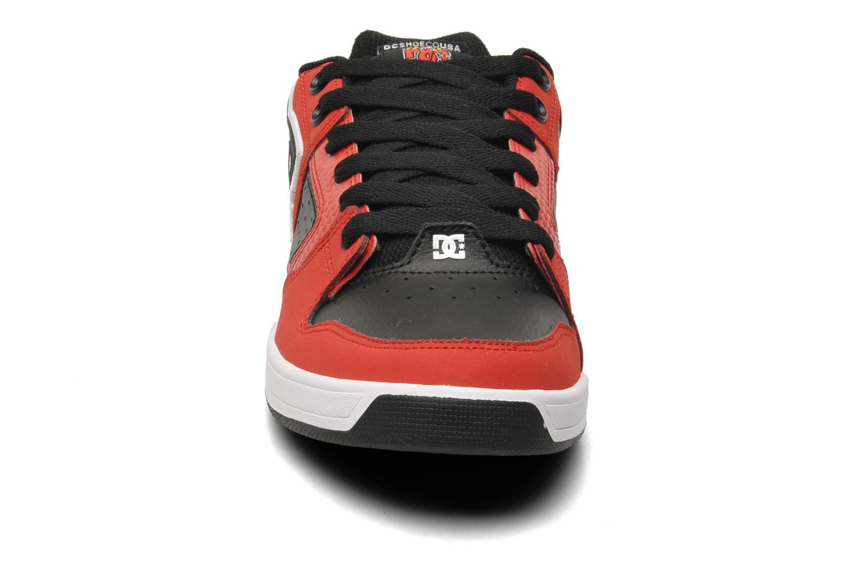 Sneaker DC Shoes Sceptor Tp rot schuhe getragen