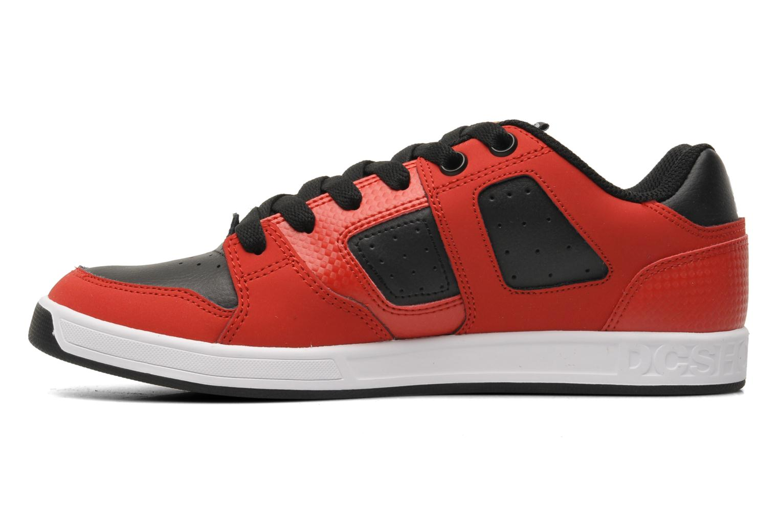 Baskets DC Shoes Sceptor Tp Rouge vue face