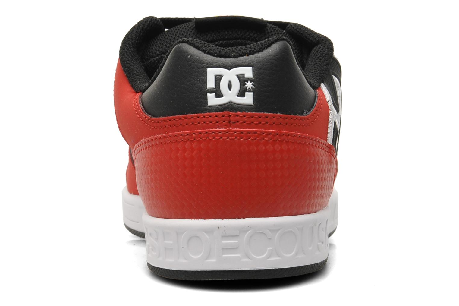 Baskets DC Shoes Sceptor Tp Rouge vue droite