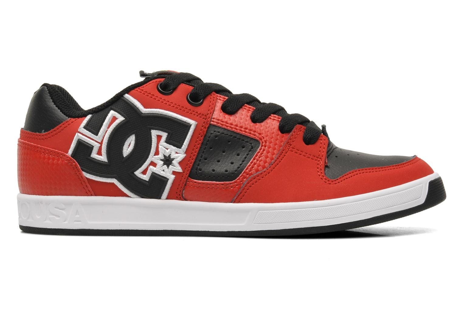 Baskets DC Shoes Sceptor Tp Rouge vue derrière