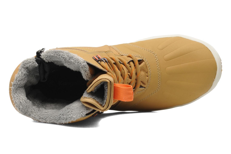 Bottines et boots Kangaroos Kanga-Tex 2024 Jaune vue gauche