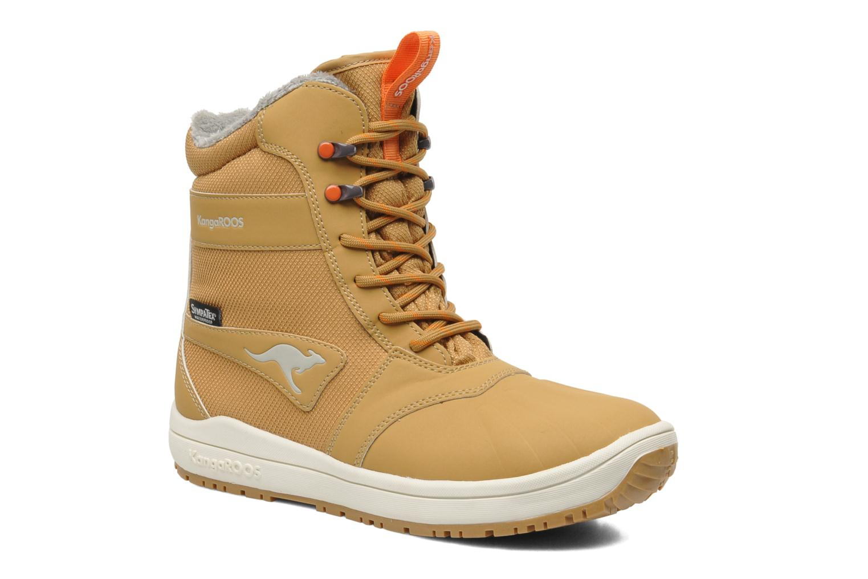 Boots Kangaroos Kanga-Tex 2024 Gul detaljerad bild på paret