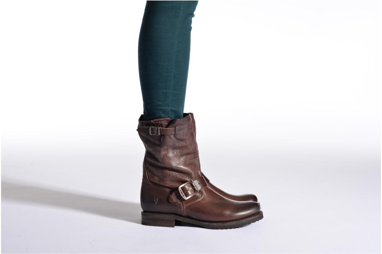 Boots en enkellaarsjes Frye Veronica Shortie Bruin onder