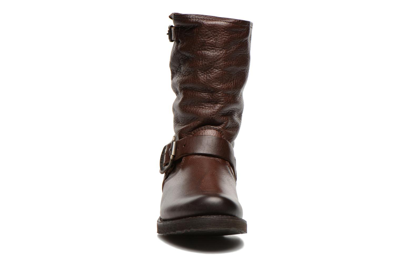 Boots en enkellaarsjes Frye Veronica Shortie Bruin model