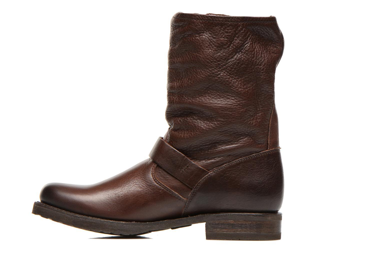 Boots en enkellaarsjes Frye Veronica Shortie Bruin voorkant