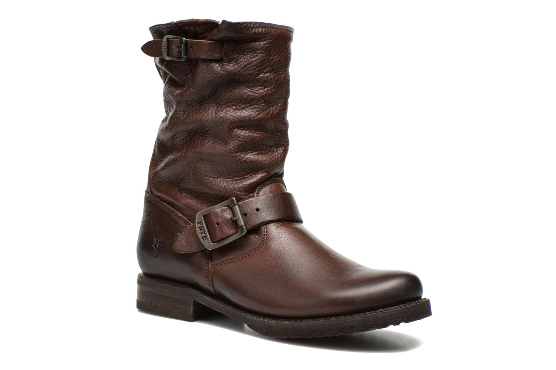 Boots en enkellaarsjes Frye Veronica Shortie Bruin detail