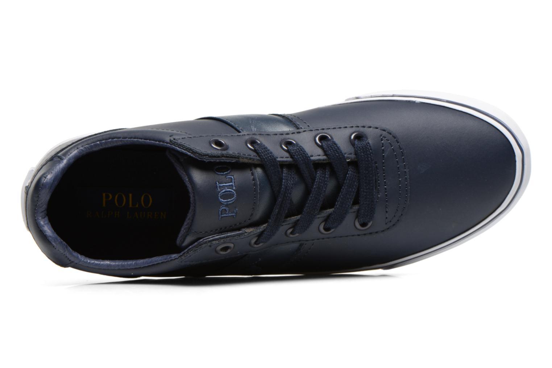 Sneakers Polo Ralph Lauren Hanford Blauw links