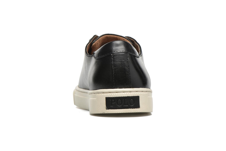 Baskets Polo Ralph Lauren Jermain Noir vue droite