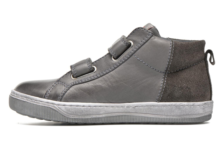 Sneaker Naturino Play VL grau ansicht von vorne