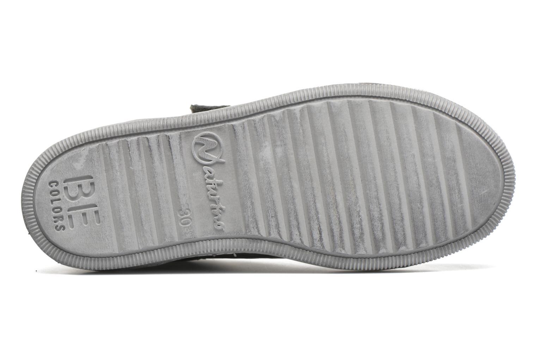 Sneaker Naturino Play VL grau ansicht von oben